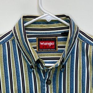 Wrangler Men's Designer Shirt Multicolor Medium